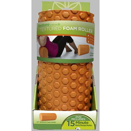 Gaiam Restore Textured Foam Roller