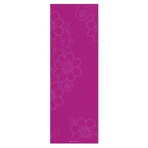 """Gaiam 0.12"""" Bloom Printed Yoga Mat"""