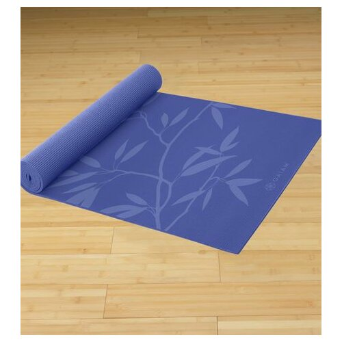 "Gaiam 0.20"" Premium Ash Leaves Printed Yoga Mat"