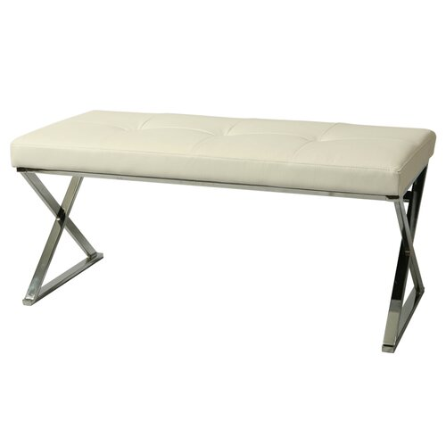 Pastel Furniture Neuville Upholstered Bench