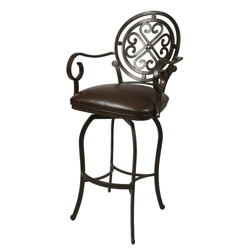 Island Falls Swivel Bar Stool