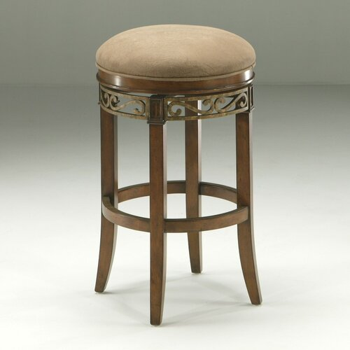 "Pastel Furniture Carmel 26"" Bar Stool with Cushion"