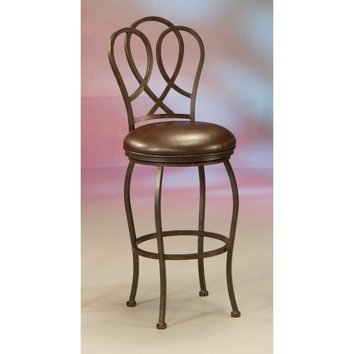 "Pastel Furniture Oxford 30"" Swivel Bar Stool with Cushion"