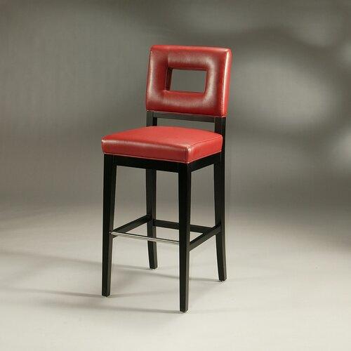 "Pastel Furniture Hajime 30"" Bar Stool with Cushion"