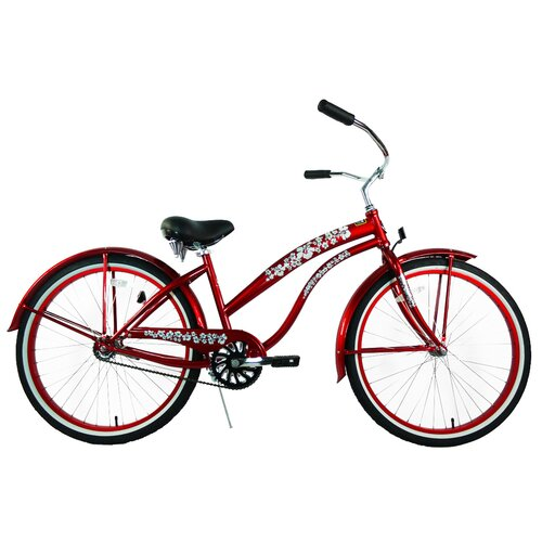 Greenline Bicycles Women's Single Speed Premium Beach Cruiser