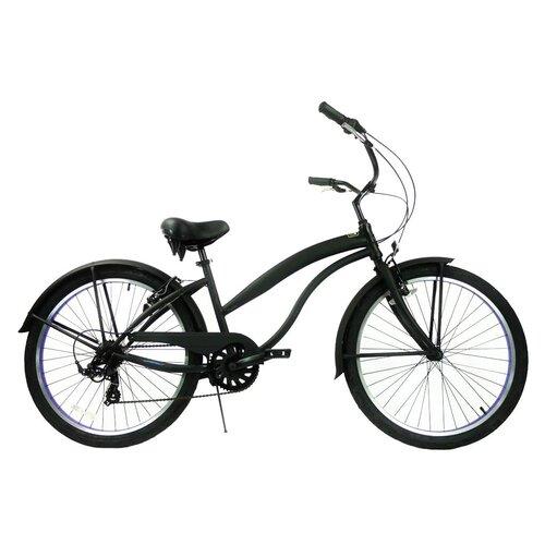 Greenline Bicycles 7-Speed Beach Cruiser