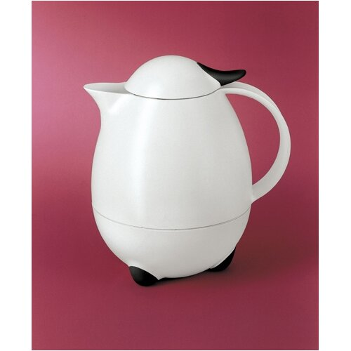 Columbus 2000 White / Black 4 Cup Carafe