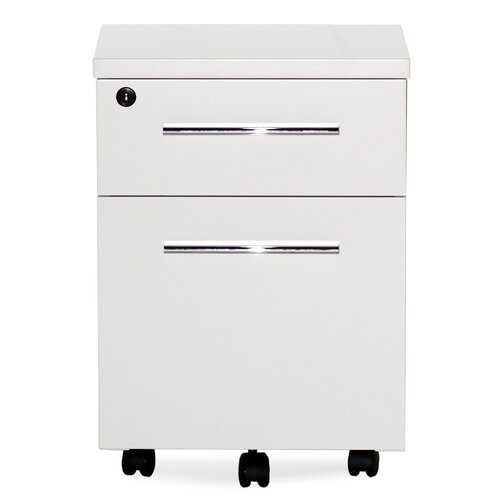Jesper Office Jesper Office 500 Series Mobile File Cabinet with Lock & Castors