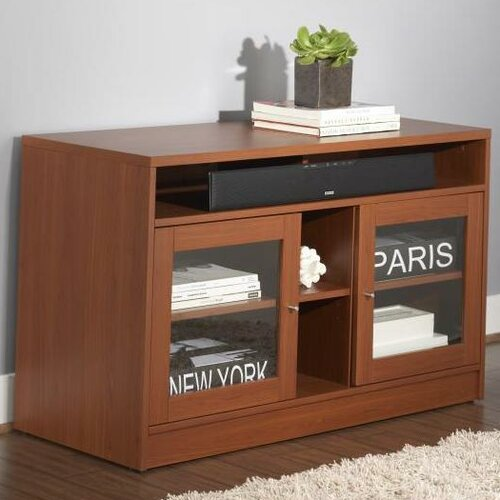 Jesper Office TV Stand with Soundbar Shelf