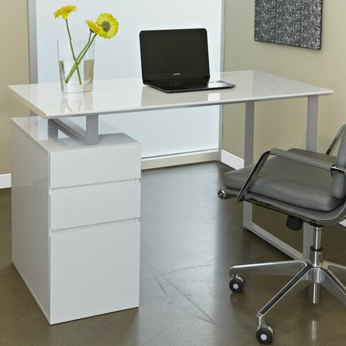 Jesper Office Tribeca 220 Study Desk with Drawers