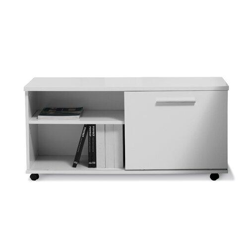 Jesper Office Jesper Office 500 Series Mobile File Cabinet with Sliding Door