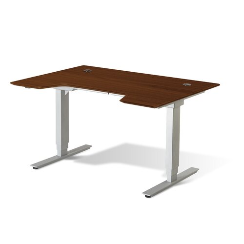 Jesper Office Standing Desk in Wood 714098