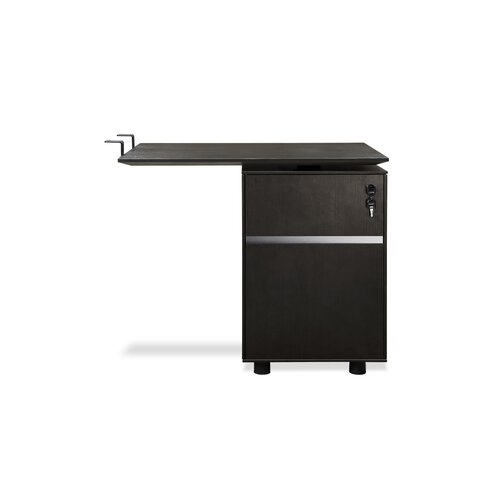 Jesper Office 300 Series Return Desk with File Cabinet