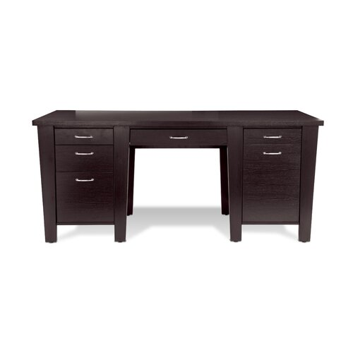 Jesper Office 900 Series Writing Desk with Drawer, Storage and Keyboard