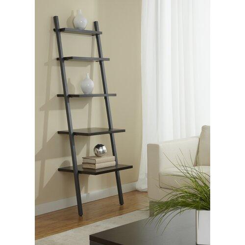 Jesper Office B2271 Five Tier Ladder Bookcase