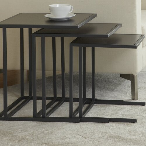 Jesper Office P1818N3 Parson Set of Three Nesting Tables