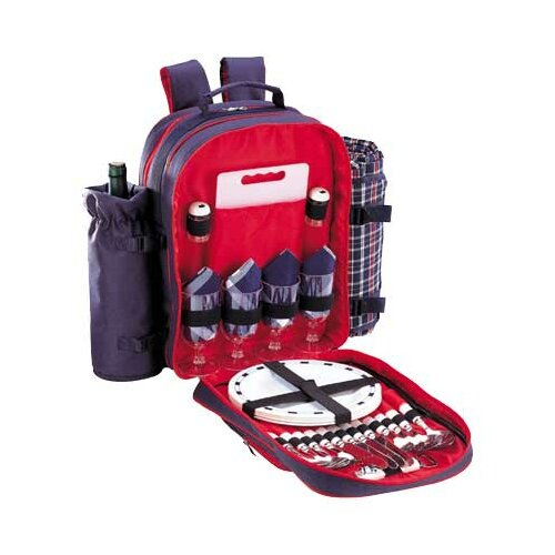 Wyndham Picnic Backpack in Navy Blue