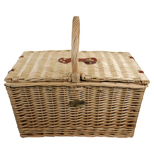 Sutherland Baskets Sangria Insulated Picnic Basket in Sangria