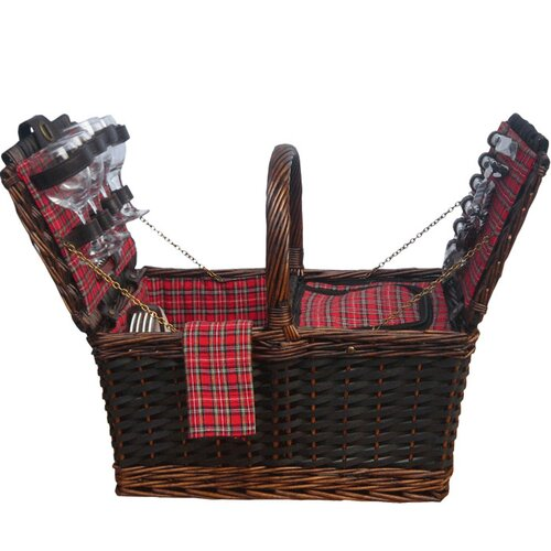Sutherland Baskets Medley de Mesa Insulated Picnic Basket
