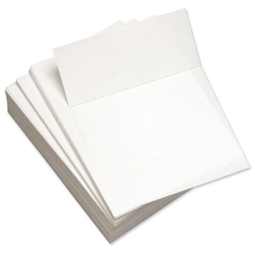 "Domtar Custom Cut Sheets, Microperf at 3-2/3"", 5 RM/CT, White"