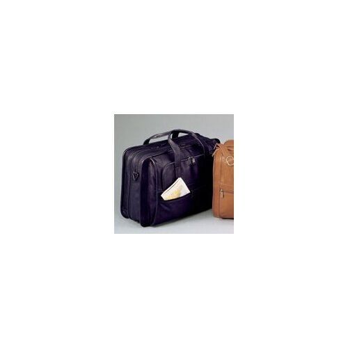 Winn International Cowhide Leather Briefcase