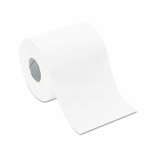 Whitehall General Supply 2-Ply Toilet Paper - 420 Sheets per Roll / 96 Rolls