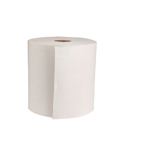 Boardwalk 425' Green Hard-wound Roll Towel in Natural White