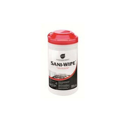 NICE-PAK PRODUCTS, INC Sani Professional Sani-Wipe Surface Sanitizing Wipes, 6/Carton