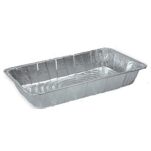 Ribbed Full-Size Aluminum Steam Pan