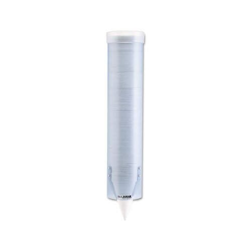 San Jamar Adjustable Frosted Water Cup Dispenser