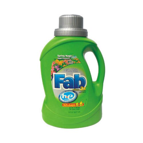 Phoenix Brands Spring Magic Fab 2X HE Liquid Laundry Detergent