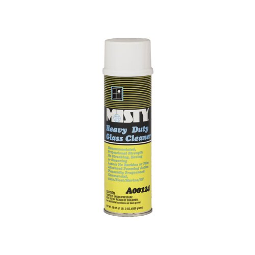 Misty Heavy-Duty Glass Cleaner Citrus Scent Aerosol Can