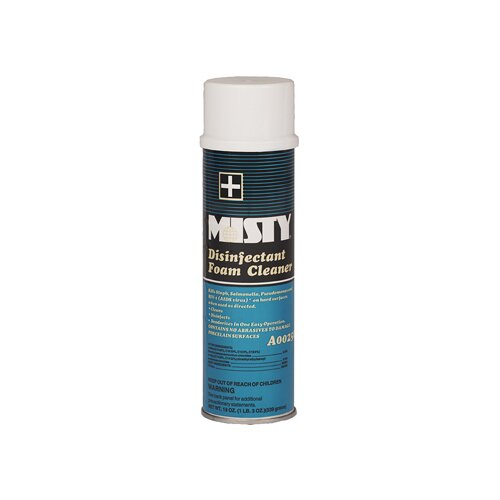 Misty Disinfectant Foam Cleaner Fresh Scent Aerosol Can