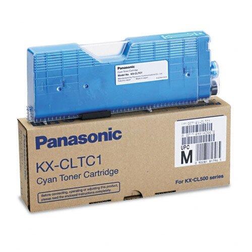 Panasonic® Toner Cartridge, 5000 Page Yield, Cyan