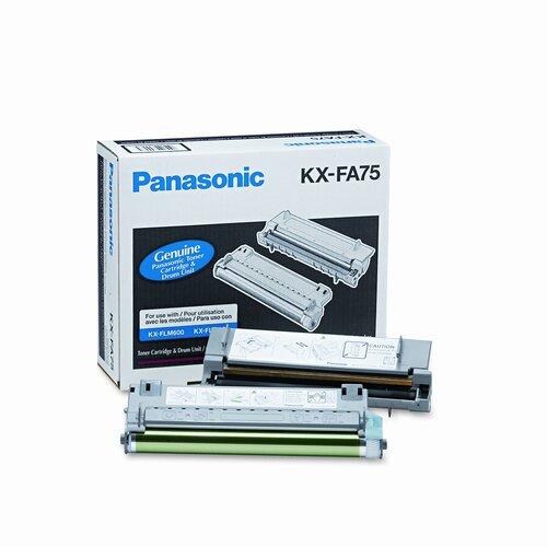 Panasonic® KXFA75 Toner Cartridge, 6000 Page Yield, Black