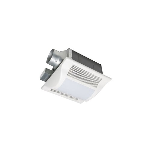 Panasonic® Whisper Fit-Lit 80 CFM Energy Star Bathroom Fan with Light