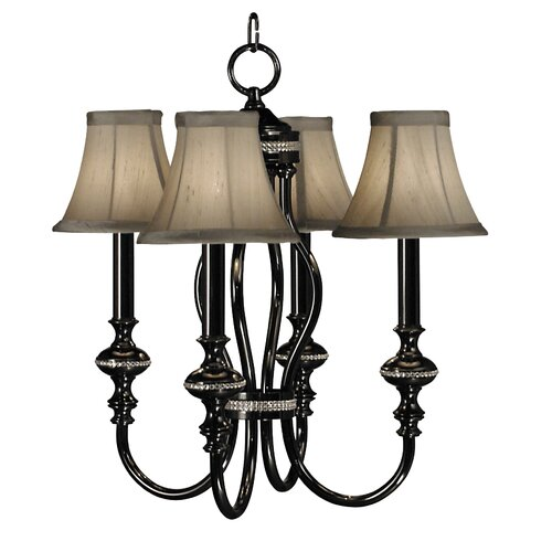 Framburg Chanson 4 Light Mini Chandelier