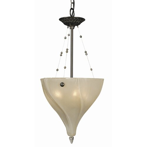 Framburg Giselle 3 Light Inverted Pendant