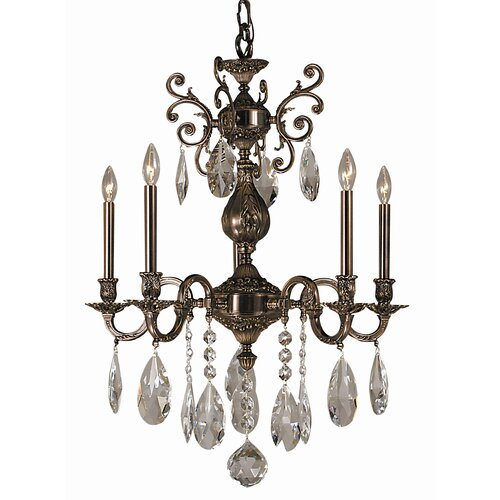 Framburg Sarabande 5 Light Dining Chandelier