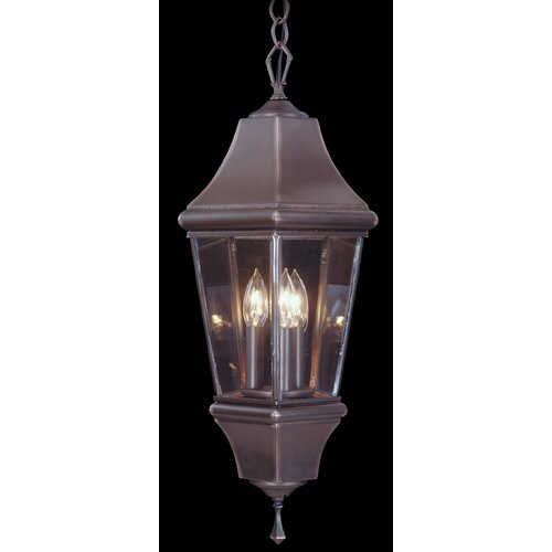 Framburg Normandy 3 Light Outdoor Hanging Lantern