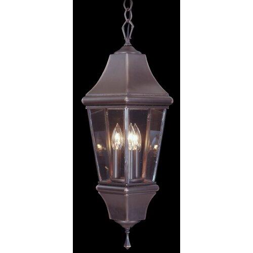 Framburg Normandy 3 Light Outdoor Hanging Lantern