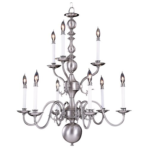 Framburg Jamestown 9 Light Dining Chandelier