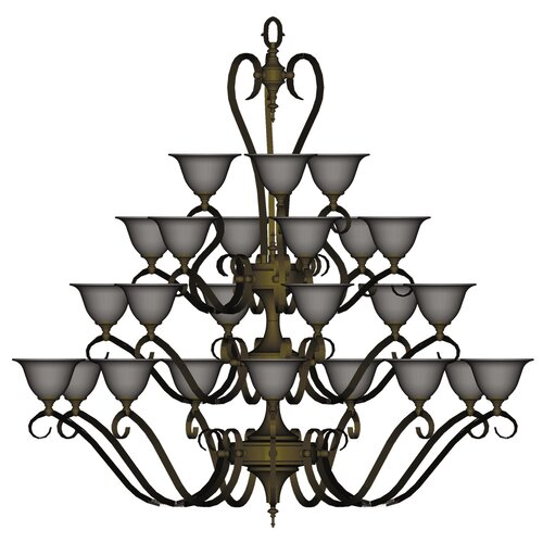 Framburg Forest 24 Light Foyer Chandelier