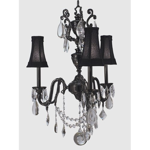 Framburg Czarina 3 Light Mini Chandelier