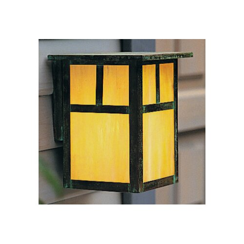 Arroyo Craftsman Mission 1 Light Outdoor Wall Sconce