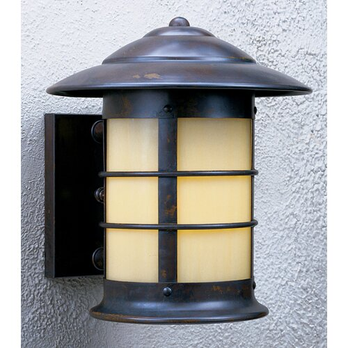 Arroyo Craftsman Newport 1 Light Outdoor Wall Sconce