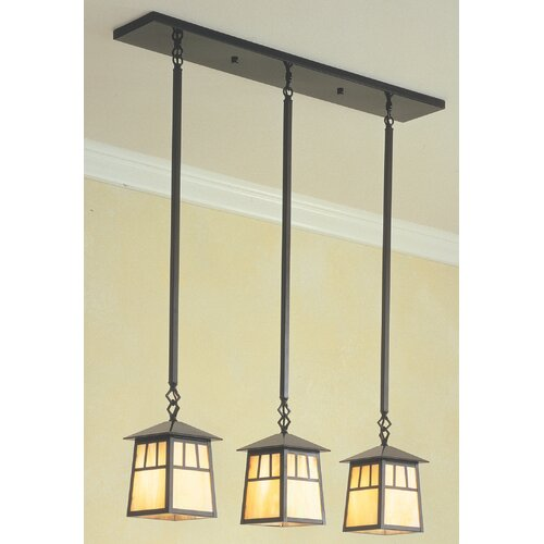 Arroyo Craftsman Raymond 3 Light Island Light