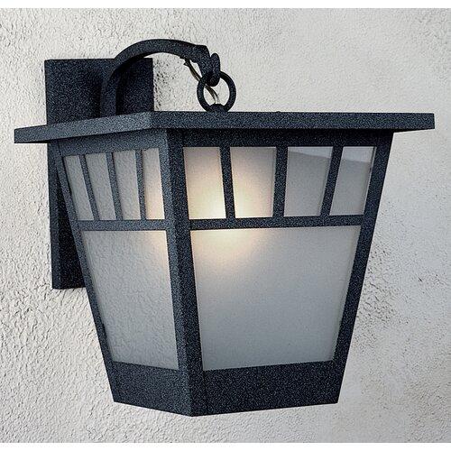 Arroyo Craftsman Savannah 1 Light Outdoor Wall Lantern