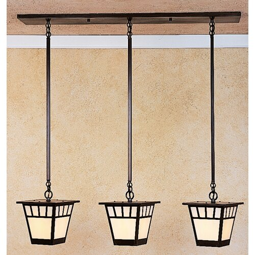 Savannah 3 Light Kitchen Island Pendant