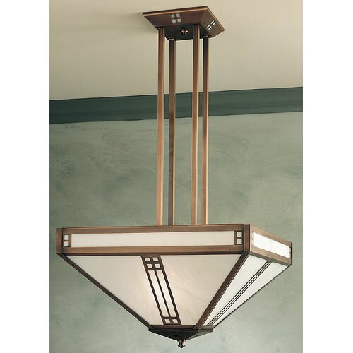 Prairie 4 Light Inverted Foyer Pendant